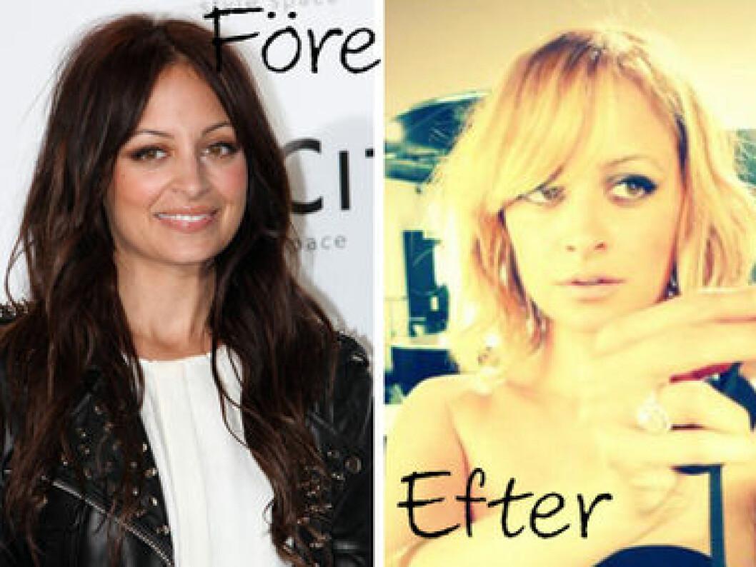 Lägg upp håret på spolar och tänk ju större desto bättre!
