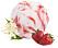 fläder och jordgubb sorbet