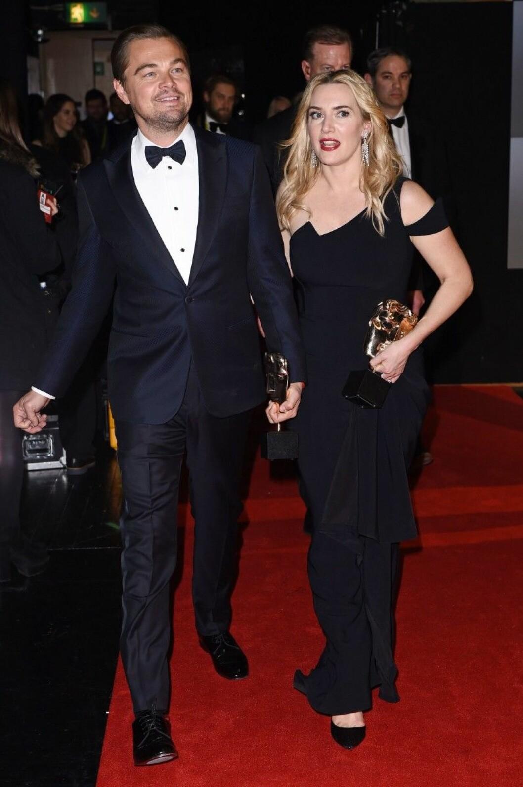 Leonardo DiCaprio och Kate Winslet
