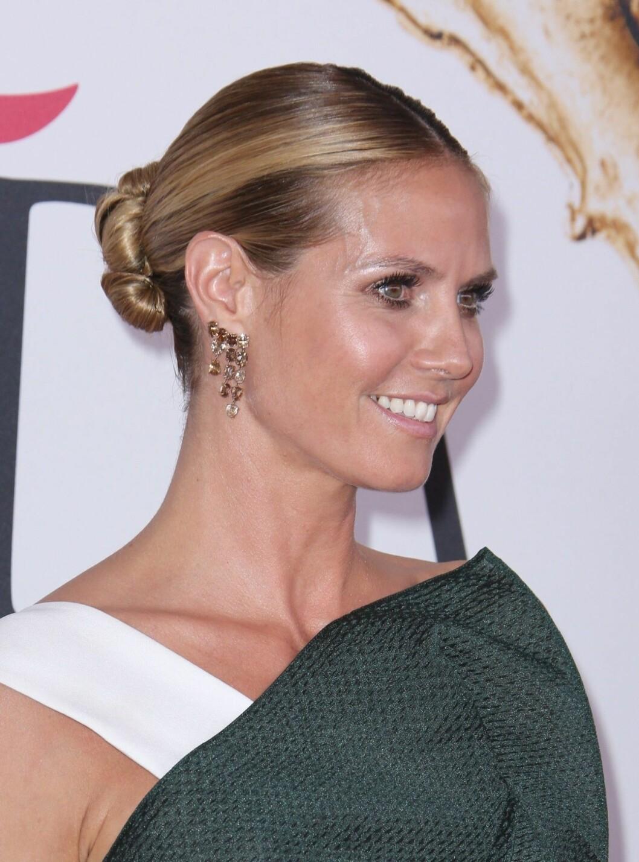 Heidi Klum hår