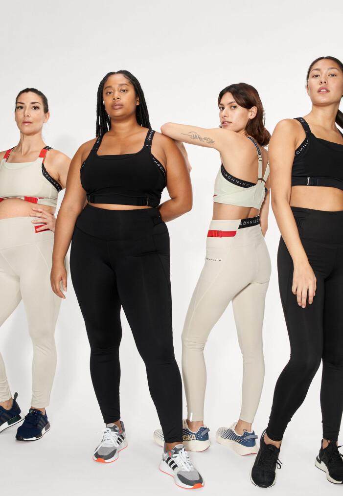 träningskläder för alla former