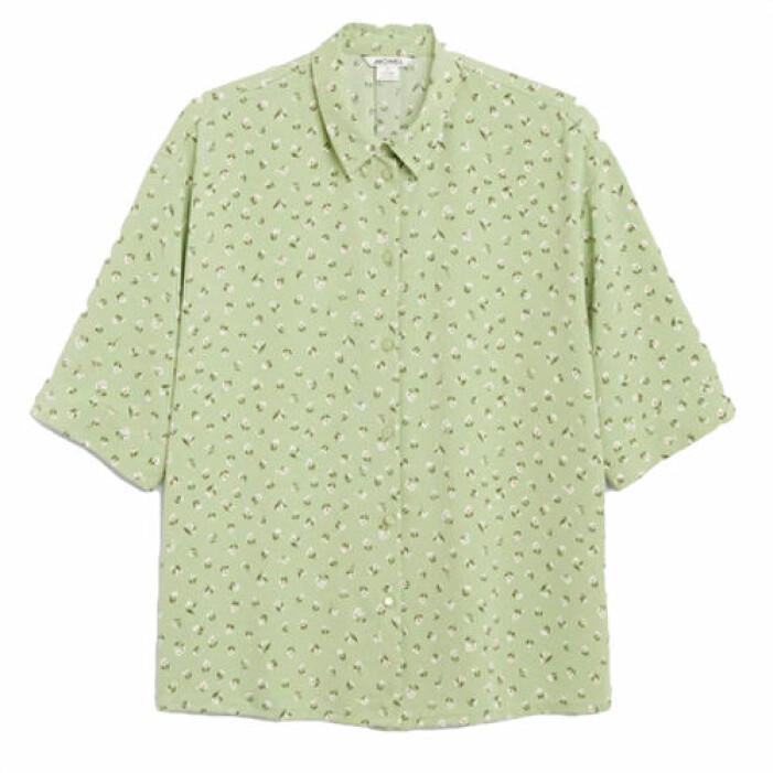 Oversize-skjorta från Monki, finns i fler färger