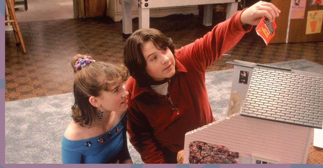 Christa Allen som Jenna Rink och Sean Marquette som unga Matt.