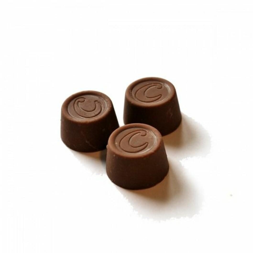 Center lösgodis choklad