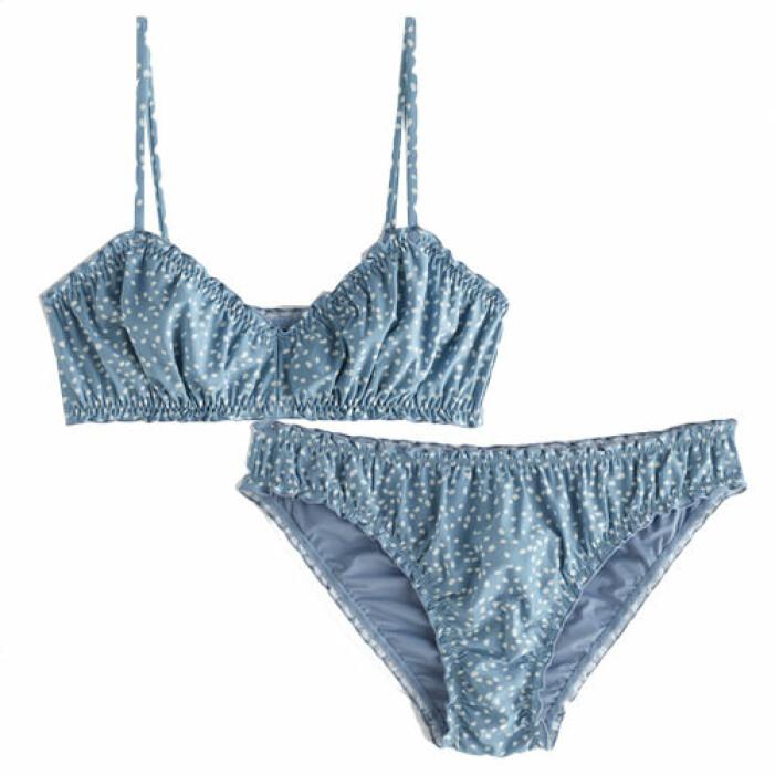 Blå snygg bikini från & Other Stories