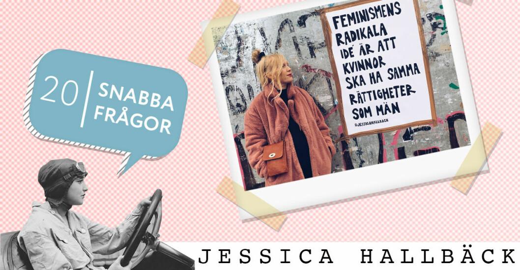 20 snabba frågor Jessica Hallbäck på Baaam