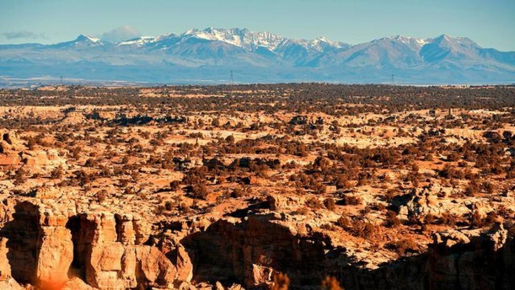 öken och berg