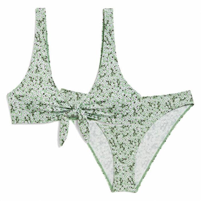 Grönmönstrad bikini från Monki