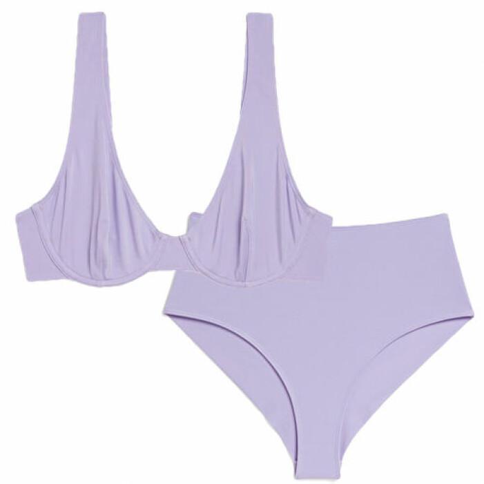 Ljuslila bikini från Monki