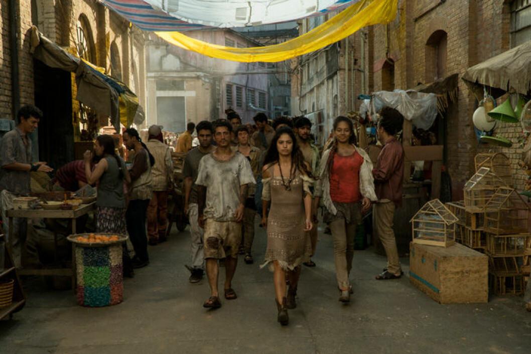 En bild från tv-serien 3 % på Netflix.