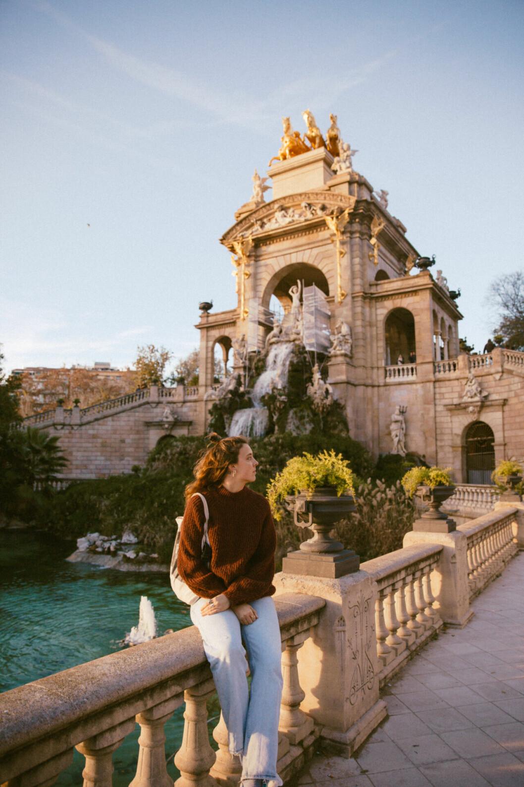 Sandy Stadelmann bodde under en period i Barcelona