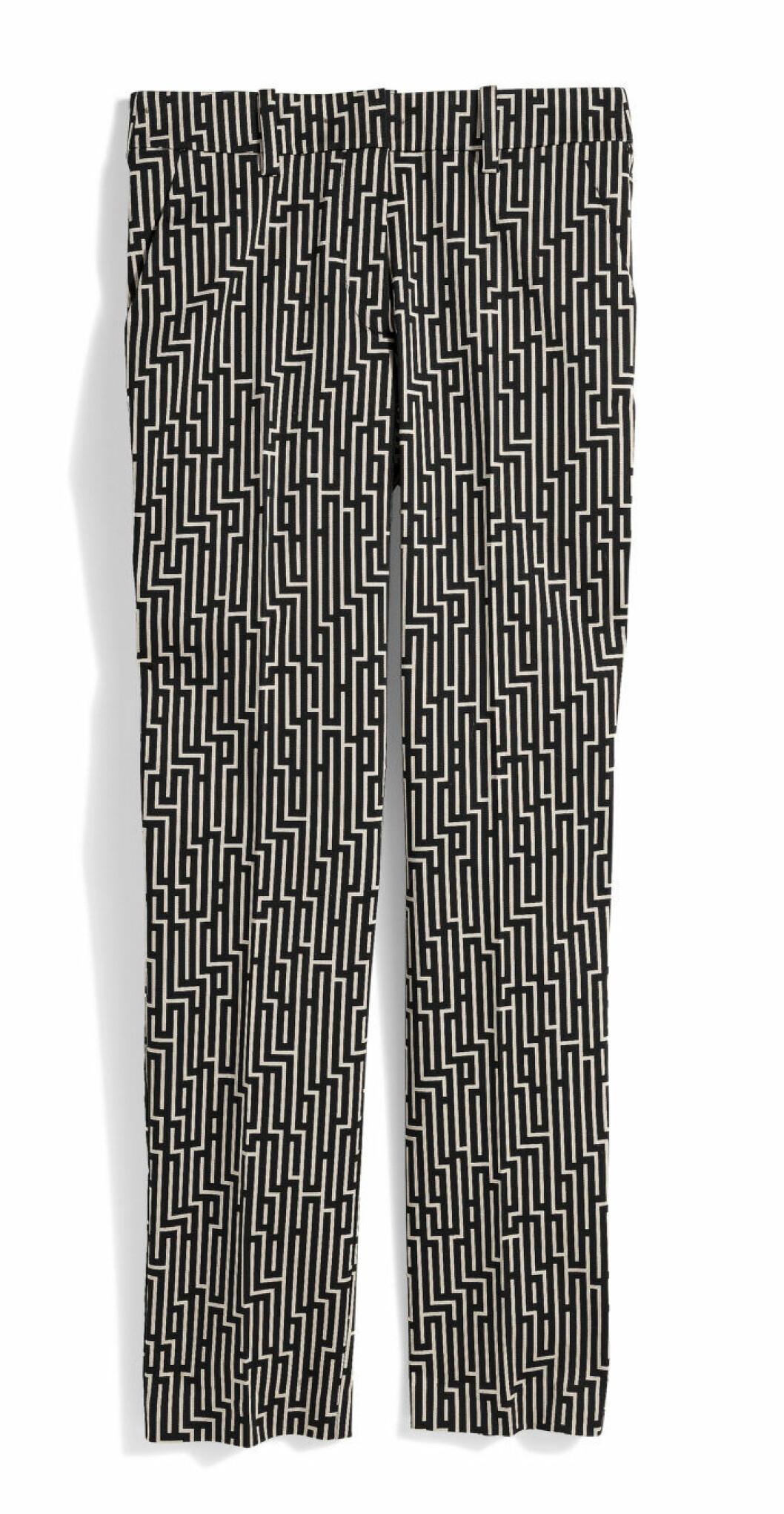 H&M GP & J Baker geometriskt mönstrade byxor