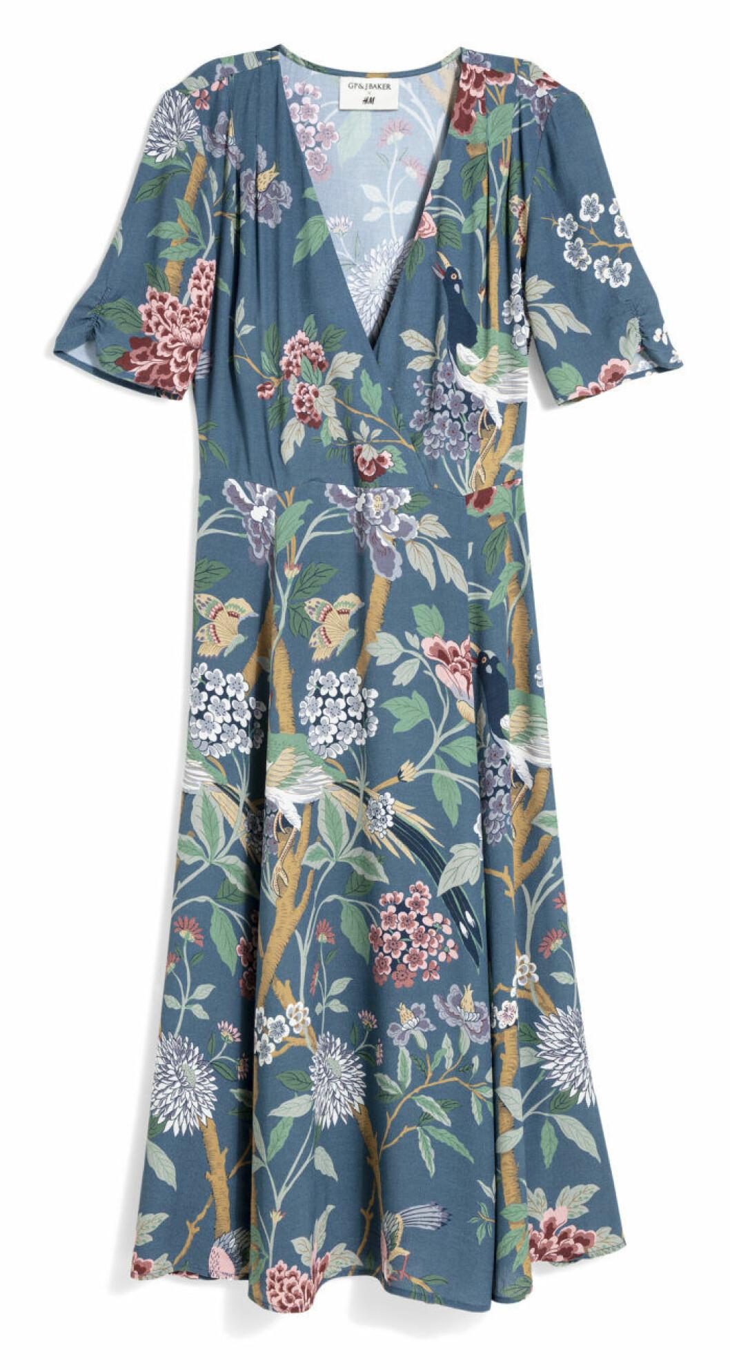 H&M GP & J Baker blomönstrad klänning