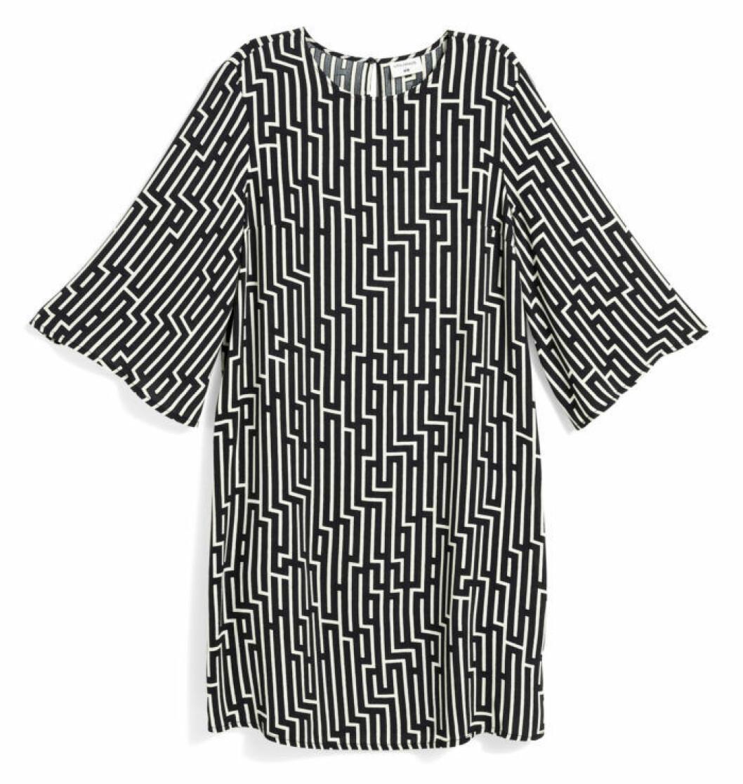 H&M GP & J Baker geometriskt mönstrad klänning