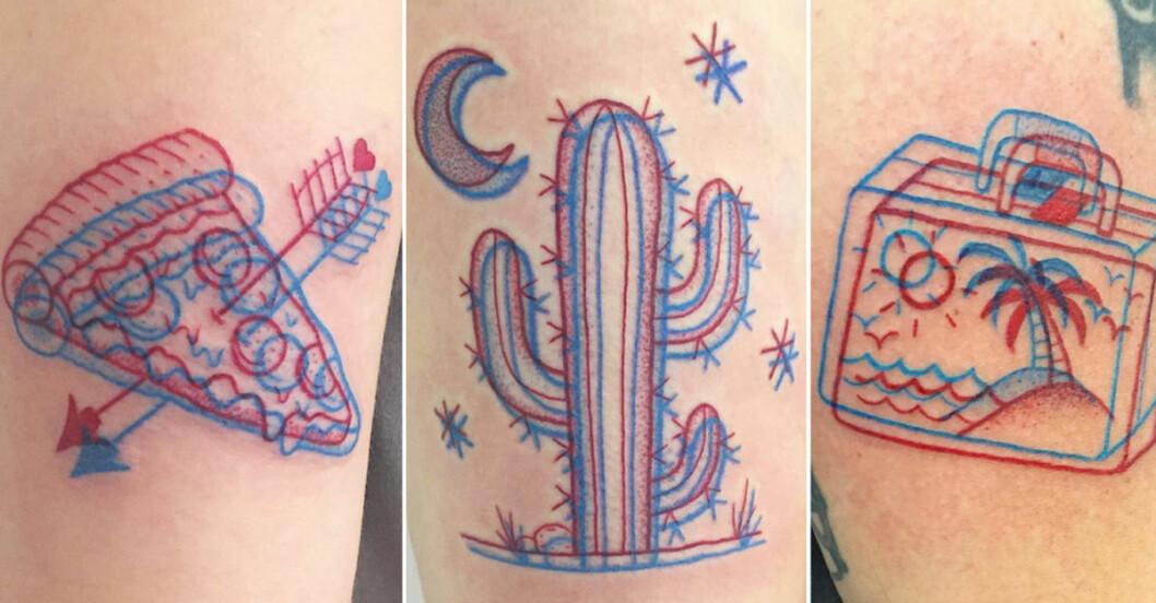 3d tatueringar