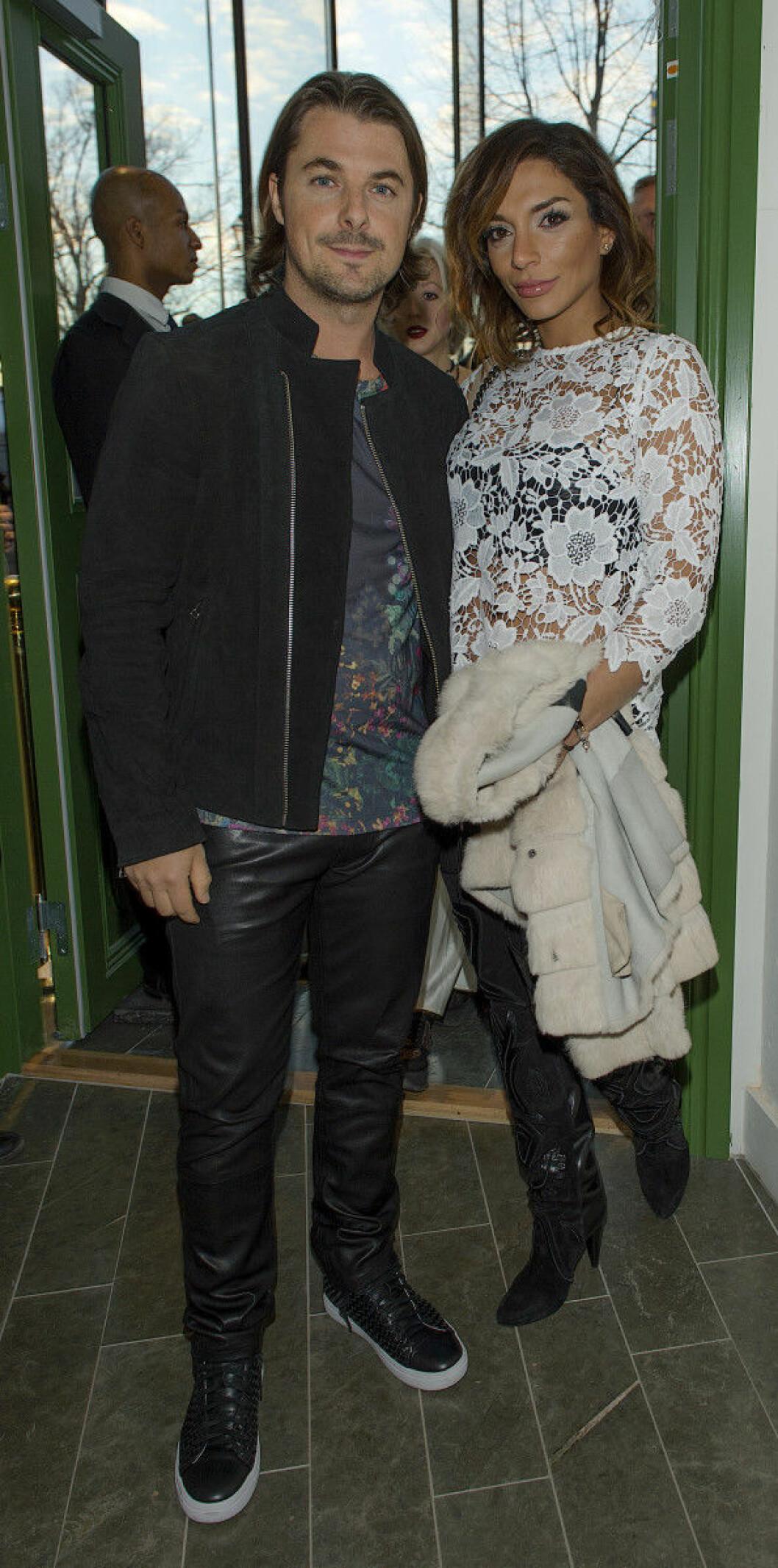 Axwell med sin fru Gloria