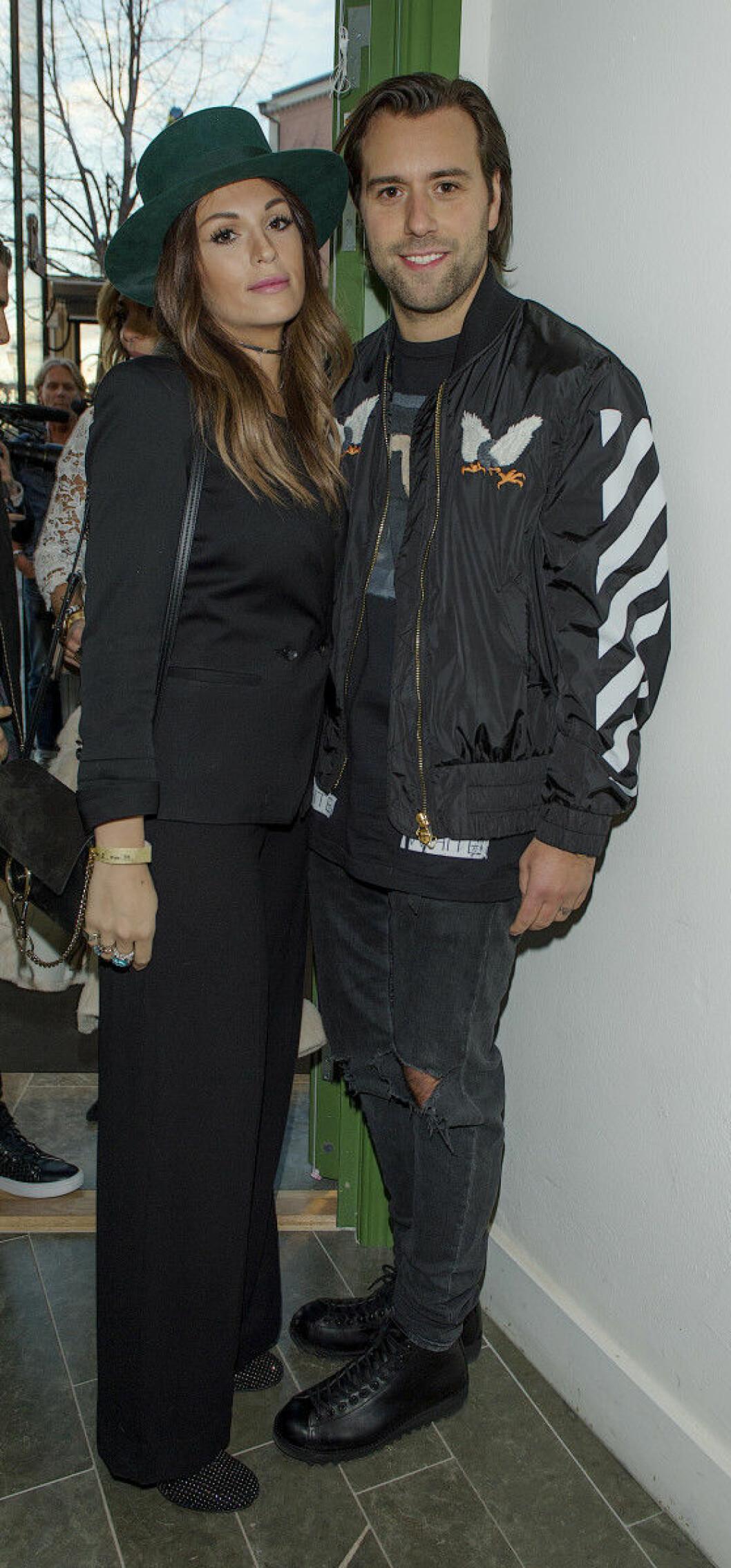 Sebastian Ingrosso med sin fru Kee