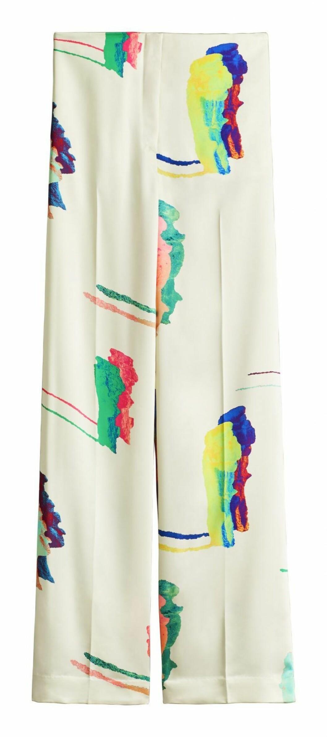 Kostymbyxor med mönster från H&M Studio SS20