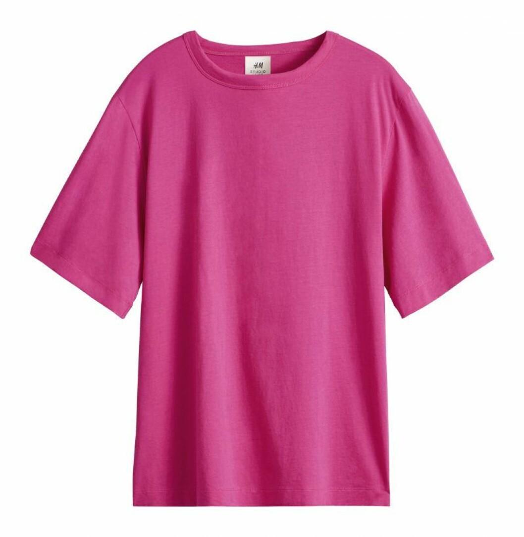 Rosa t-shirt H&M Studio SS20