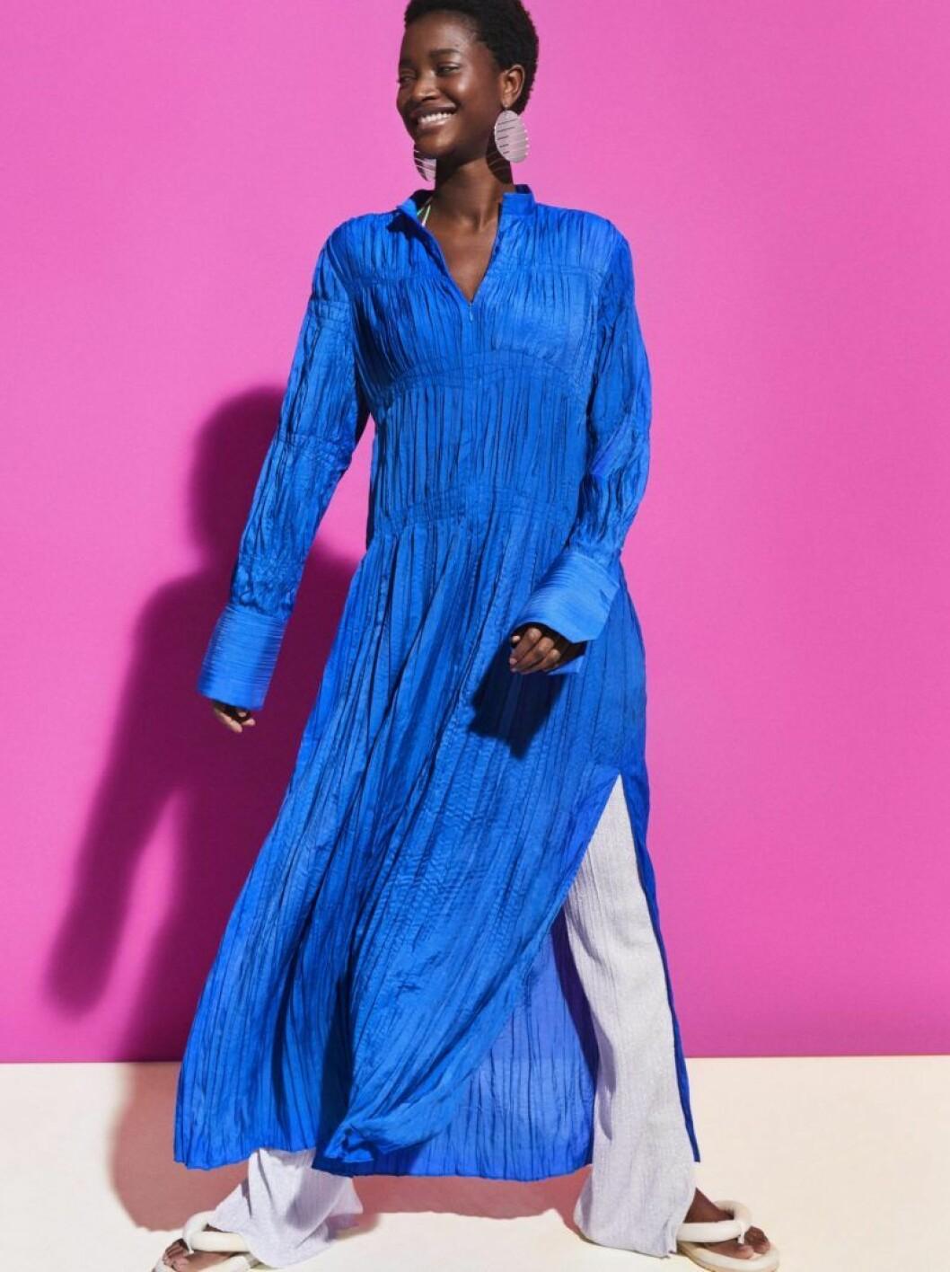 Klänning med slits H&M Studio SS20