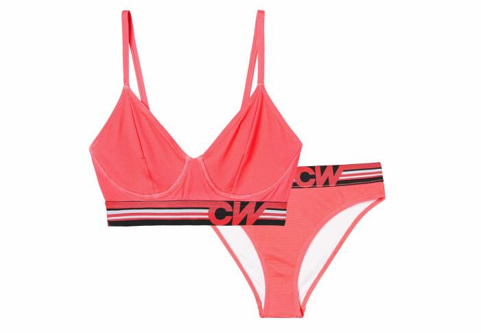 röd bikini carin wester