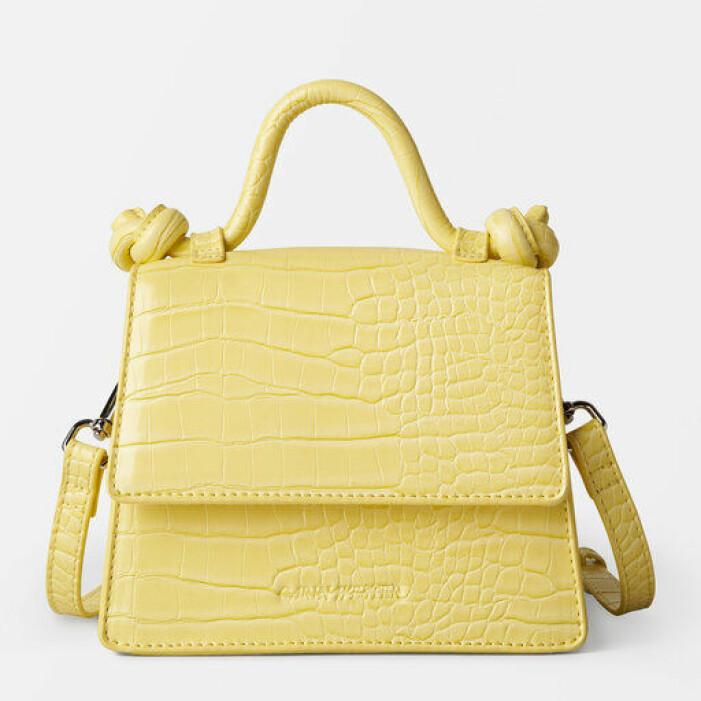 gul liten väska från carin wester