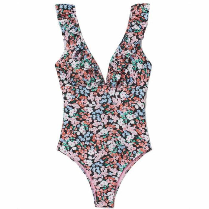 Snygg bikini från H&M med blommor