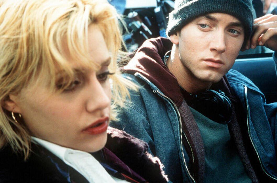 En bild från filmen 8 Mile, som har premiär på Netflix den 22 maj.
