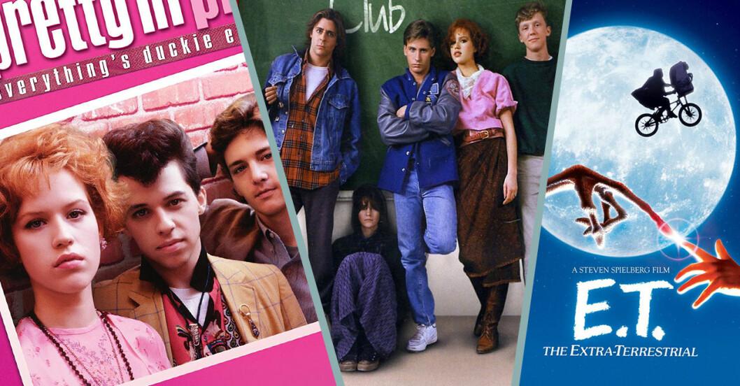 17 filmer och serier från 80-talet