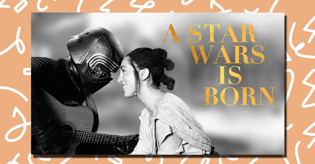 A Star Wars Is Born är en parodi på Shallow