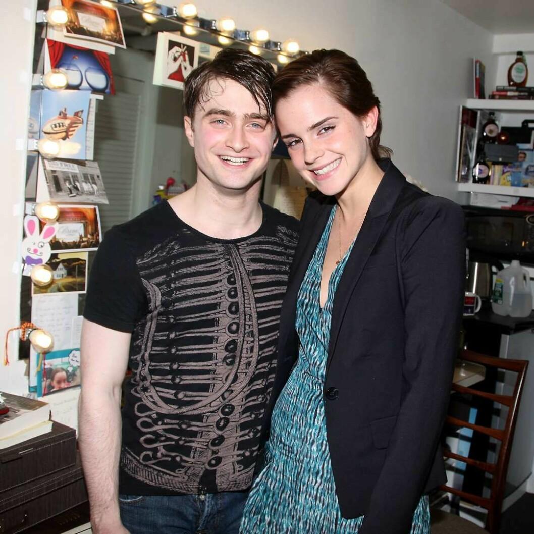 Emma Watson och Daniel Radcliffe