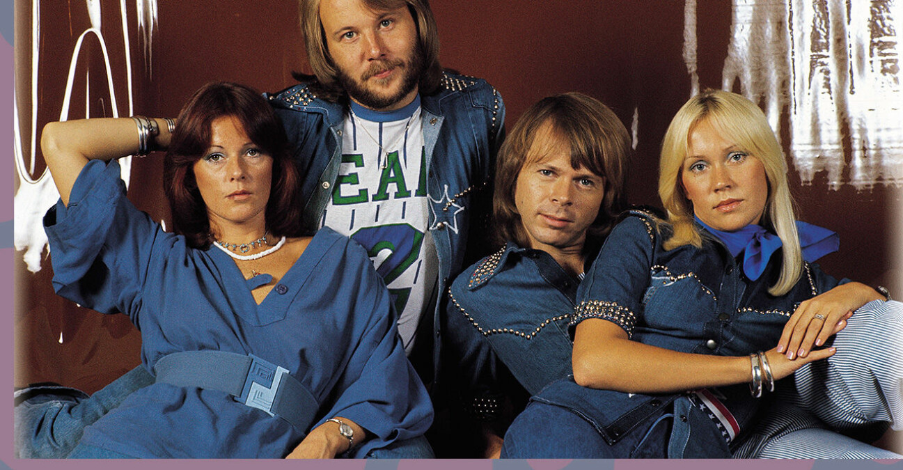Abba i jeans-outfits