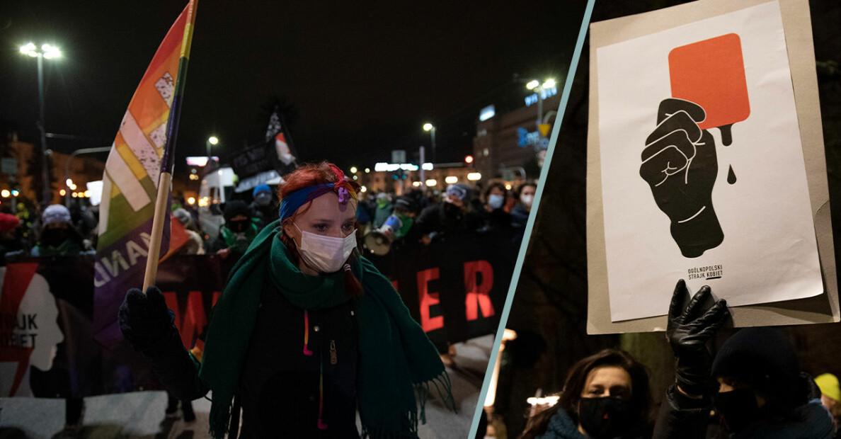 Polen driver igenom kritiserad abortlag – detta gäller nu