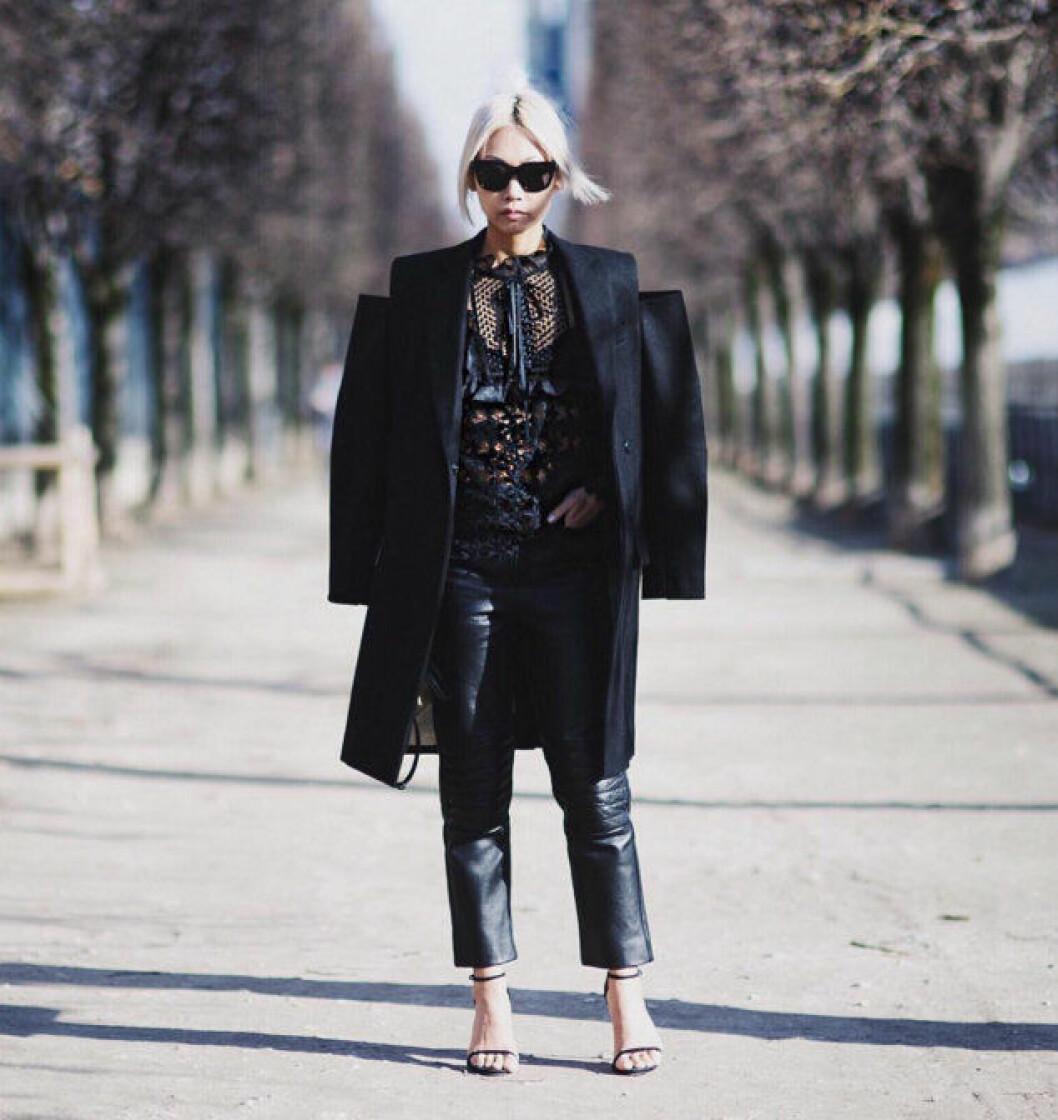 accessoarer svart outfit