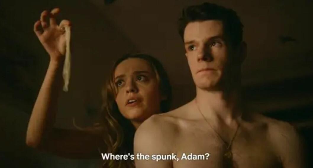 Aimee och Adam i första avsnittet