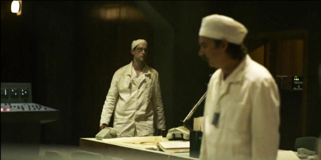 Adam Lundgren i Chernobyl Avsnitt 1