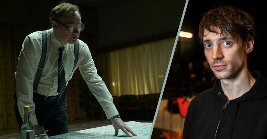 Adam Lundgren i Chernobyl i HBO
