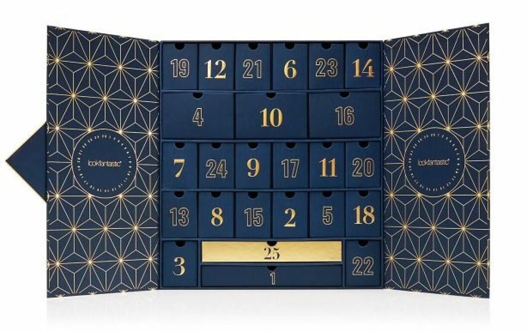 Adventskalender med smink för vuxna till julen 2019