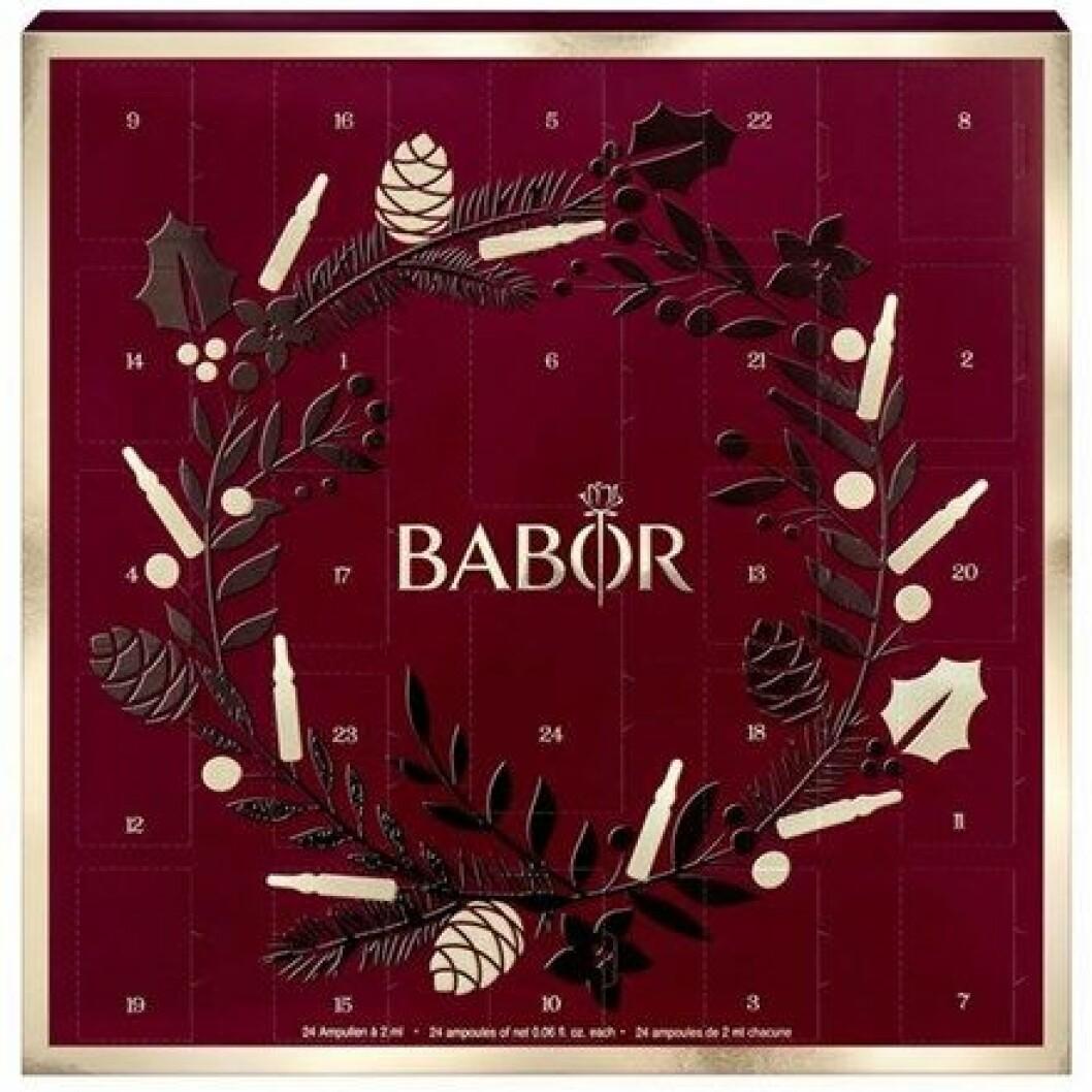 Adventskalender med skönhet från Babor till 2019