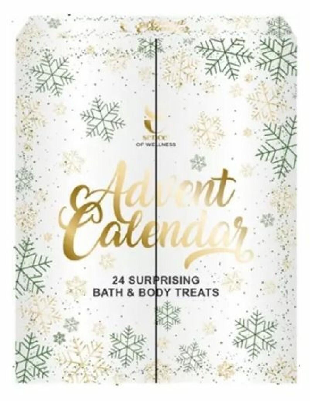 Adventskalender med skönhetsprodukter till julen 2019