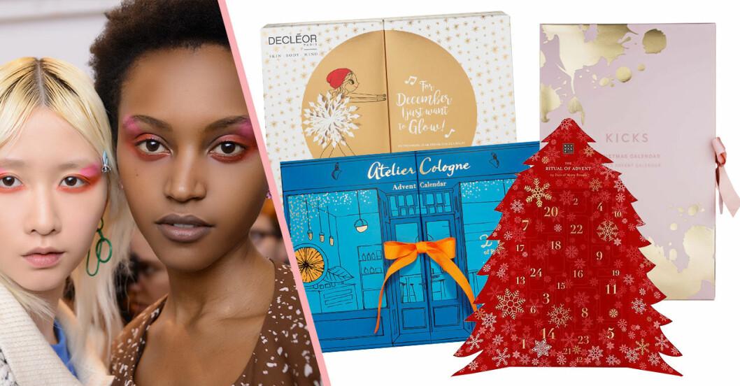 Adventskalender med skönhetsprodukter för vuxna till julen 2018
