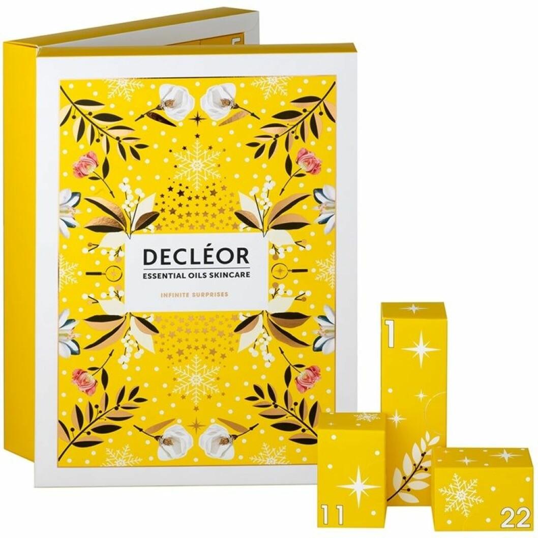 Adventskalender med smink från Decleor till 2019