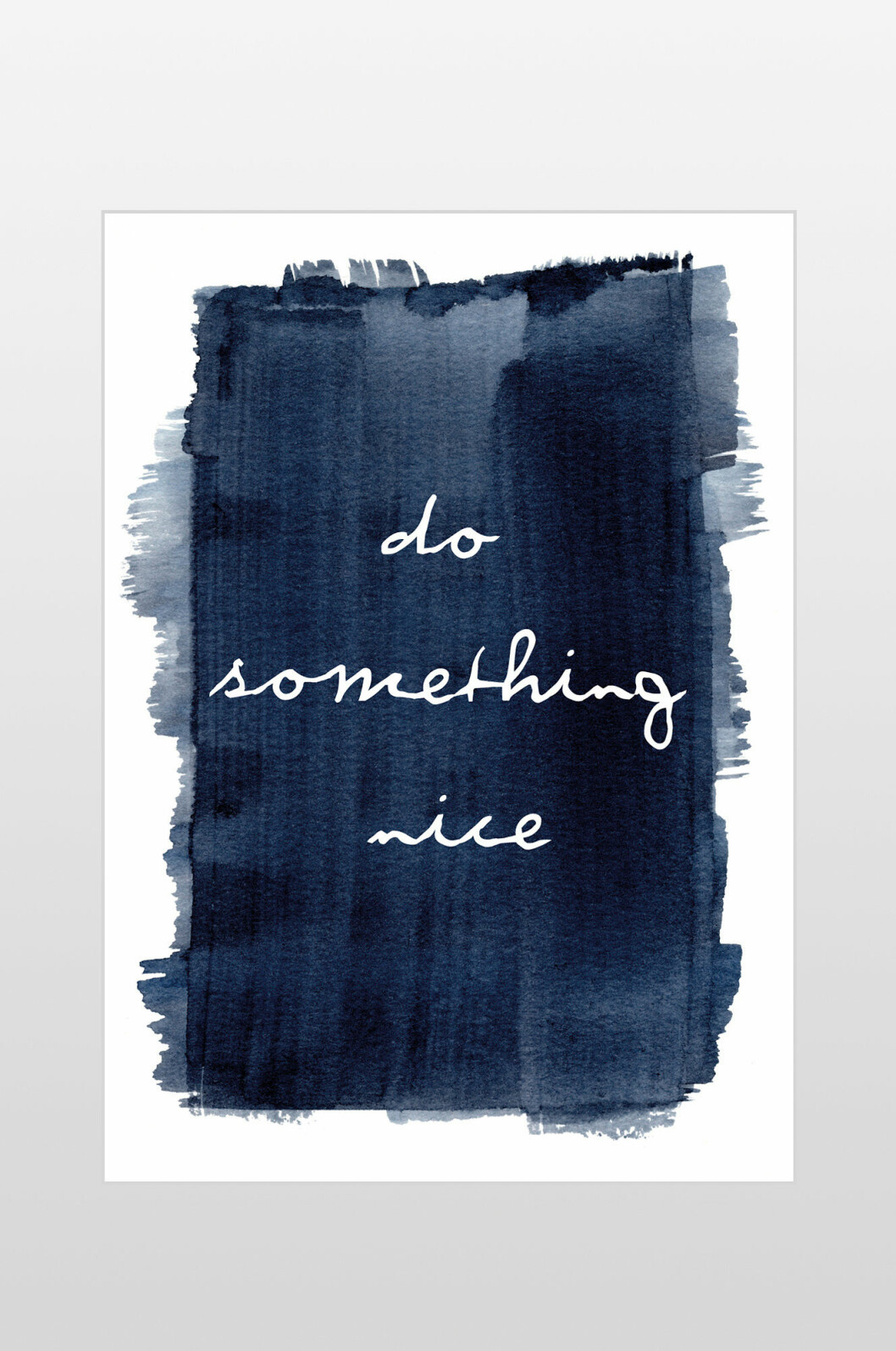 affisch do something nice