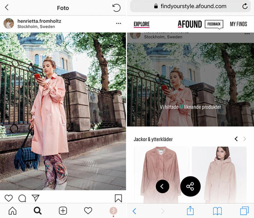 Afound lanserar Find your style