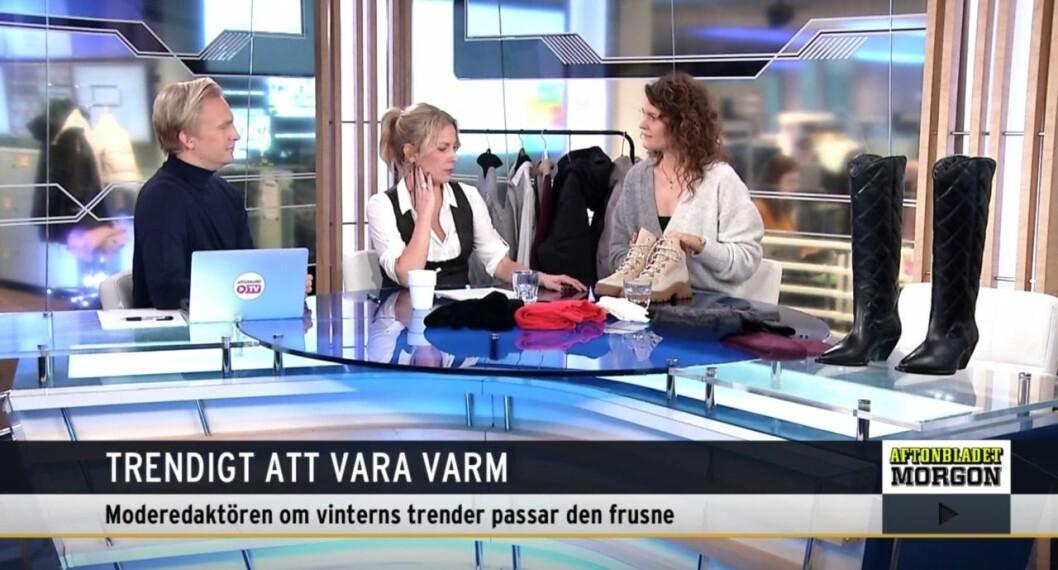 Aftonbladet Morgon Janne Grönroos, Maria Bjaring och Emma Blomberg