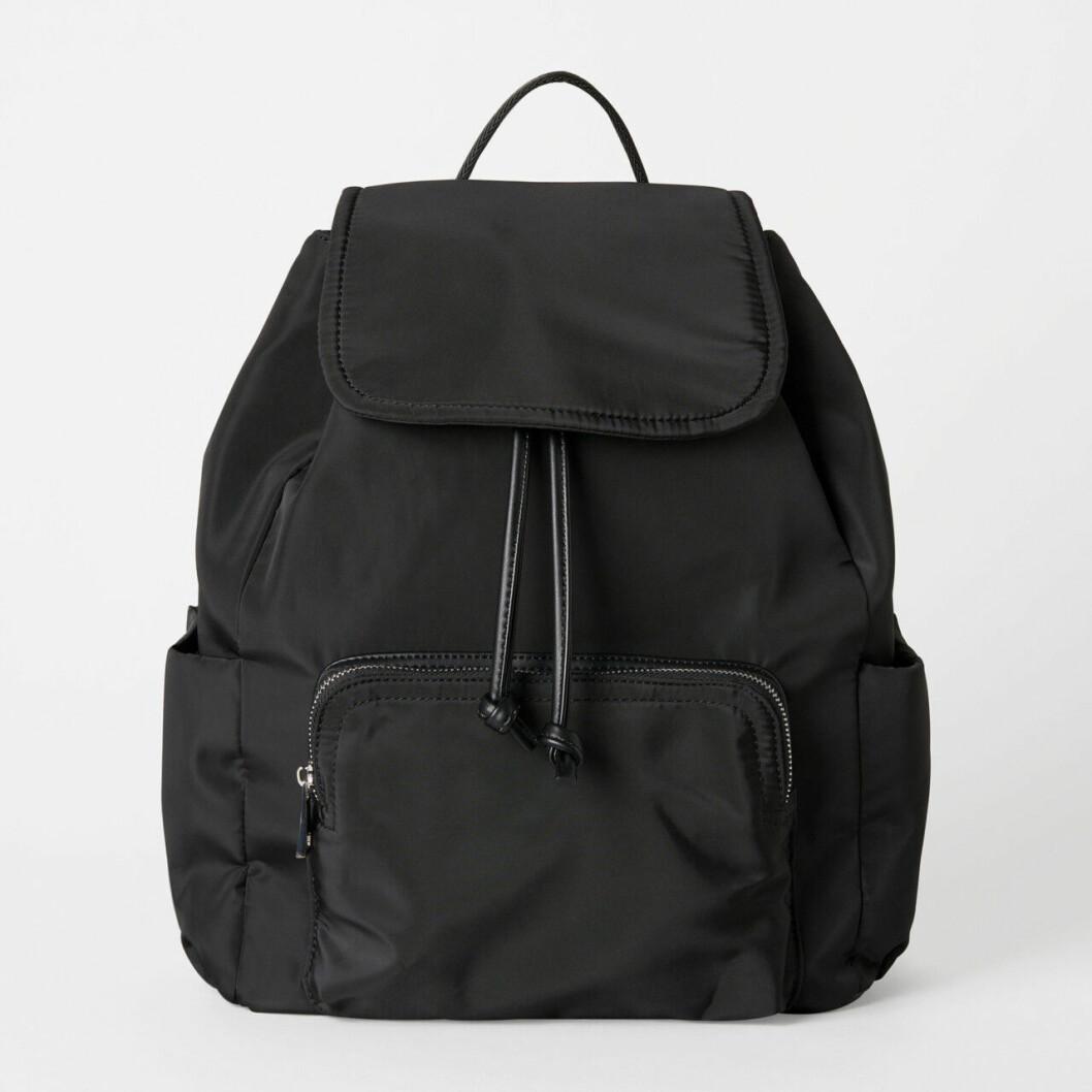 Svart ryggsäck från Åhléns