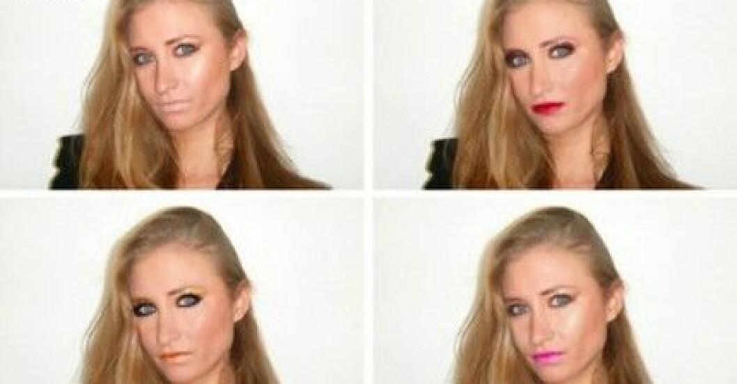 Aida testar Topshops nya makeupkollektion online.