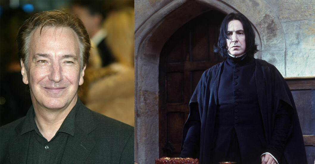 Alan Rickman i Harry Potter