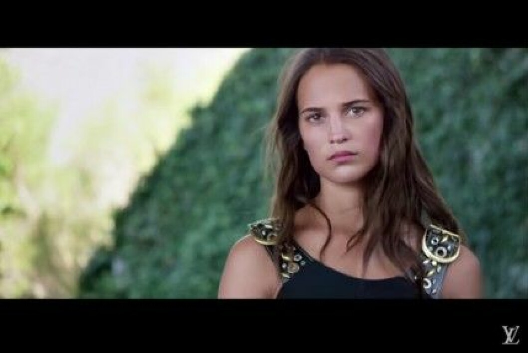 alicia vikander reklam lv 2015