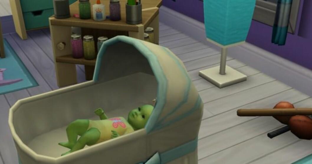 Alienbarn the Sims